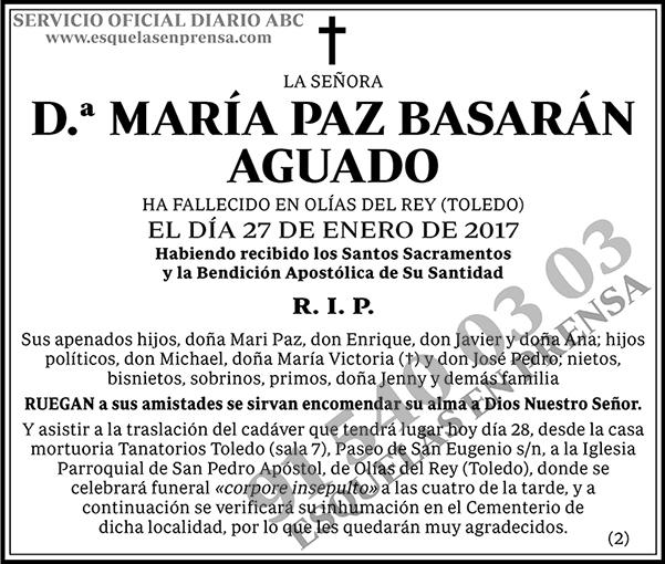 María Paz Basarán Aguado